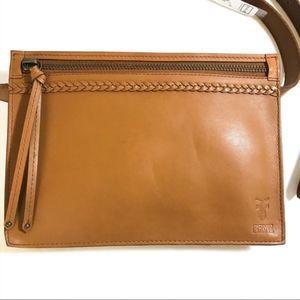 Frye 20mm Leather Belt Bag | Tan | XL | NWT